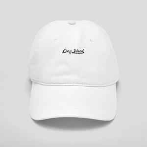 Long Island New York Vintage Logo Baseball Cap