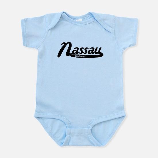 Nassau Bahamas Vintage Logo Body Suit