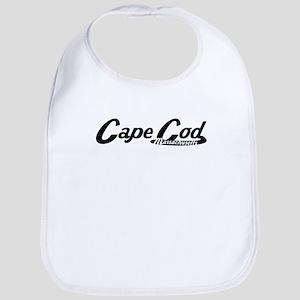 Cape Cod Massachusetts Vintage Logo Bib