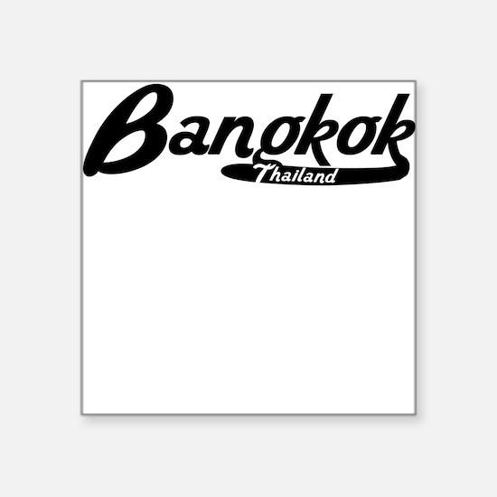 Bangkok Thailand Vintage Logo Sticker
