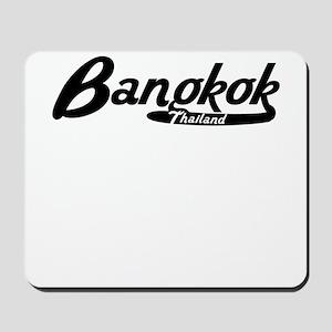 Bangkok Thailand Vintage Logo Mousepad
