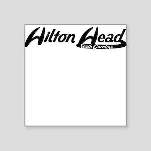 Hilton Head South Carolina Vintage Logo Sticker