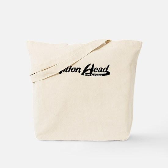 Hilton Head South Carolina Vintage Logo Tote Bag