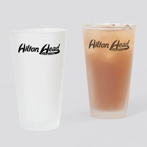 Hilton Head South Carolina Vintage Logo Drinking G