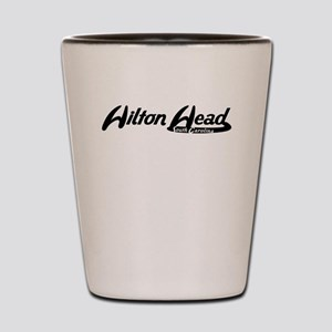 Hilton Head South Carolina Vintage Logo Shot Glass