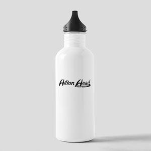 Hilton Head South Carolina Vintage Logo Water Bott
