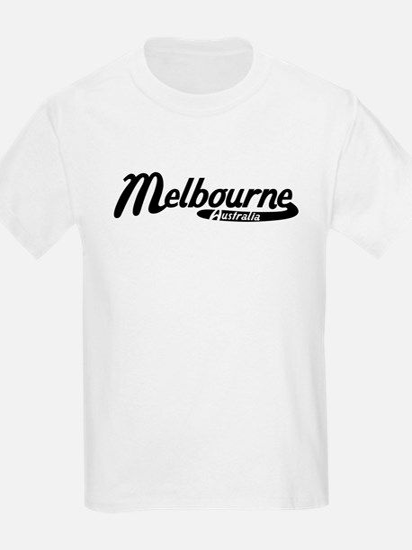 Melbourne Australia Vintage Logo T-Shirt