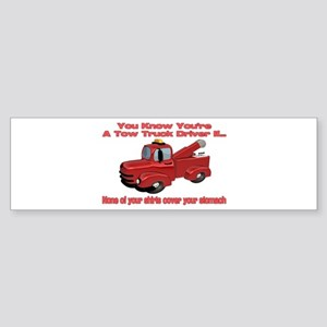 Tow Truck Tshirts and Gifts Bumper Sticker