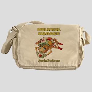 Helpful Horace Messenger Bag
