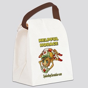 Helpful Horace Canvas Lunch Bag