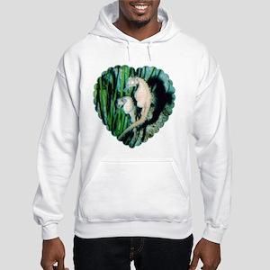 Sea Horse Pair Hooded Sweatshirt
