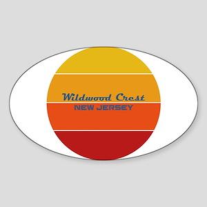 New Jersey - Wildwood Crest Sticker