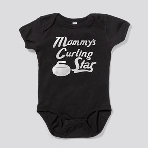 Mommys Curling Star Baby Bodysuit