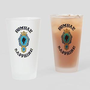 Bombae Sapphire Drinking Glass