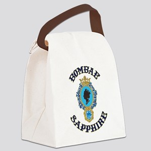 Bombae Sapphire Canvas Lunch Bag