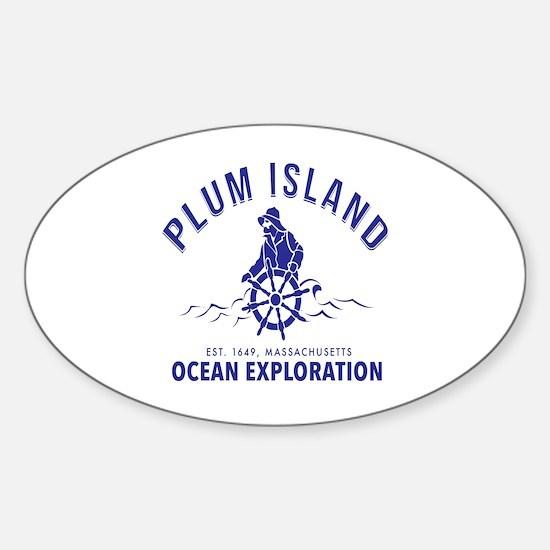 Cute Plum Sticker (Oval)