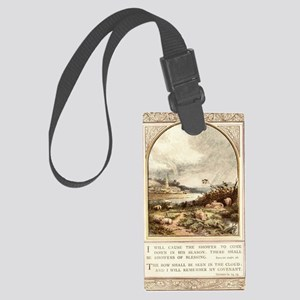 Shower of Blessings Large Luggage Tag