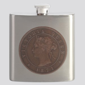 Queen Victoria 1871 Flask