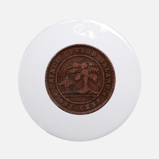 Prince Edward Island Round Ornament