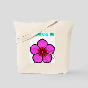 Pretty Singapore Flower Tote Bag