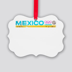 Mexico Olympics Picture Ornament