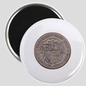 Half Crown Magnet