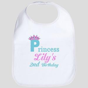 Princess Birthday Baby Bib