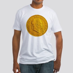 Gold Coin Fitted T-Shirt