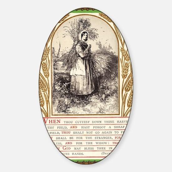 Deuteronomy 24 Sticker (Oval)