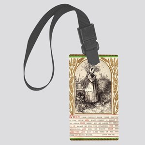 Deuteronomy 24 Large Luggage Tag