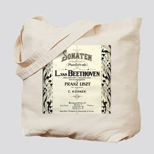 Beethoven Sonata Tote Bag