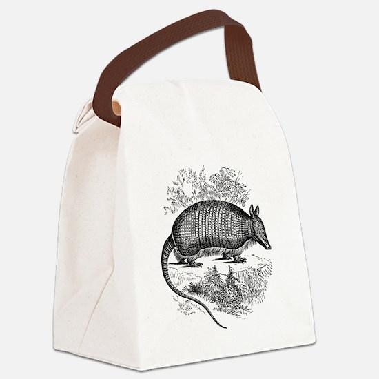 Unique Armadillos Canvas Lunch Bag