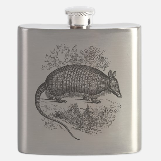 Cute Armadillos Flask