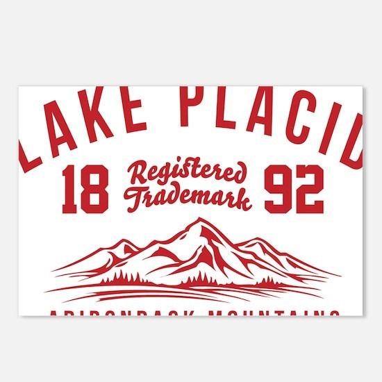 Unique Lake placid Postcards (Package of 8)