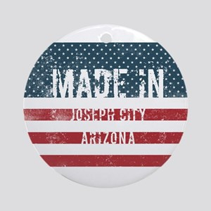 Made in Joseph City, Arizona Round Ornament
