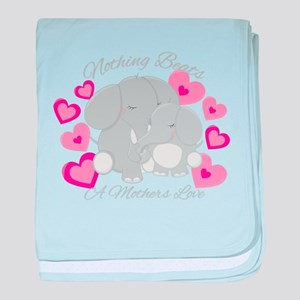 Elephant Love baby blanket
