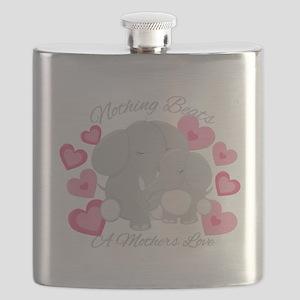 Elephant Love Flask