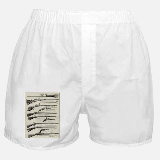 Vintage Guns Boxer Shorts