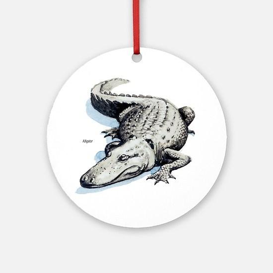 Alligator Gator Keepsake (Round)