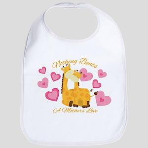 Giraffe Love Bib