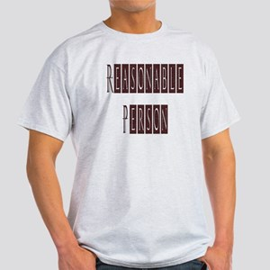 Reasonable Person Light T-Shirt