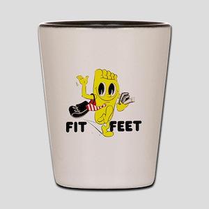 Fit Feet Shot Glass