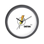EinStein Logo Wall Clock