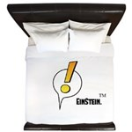 EinStein Logo King Duvet