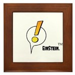 EinStein Logo Framed Tile