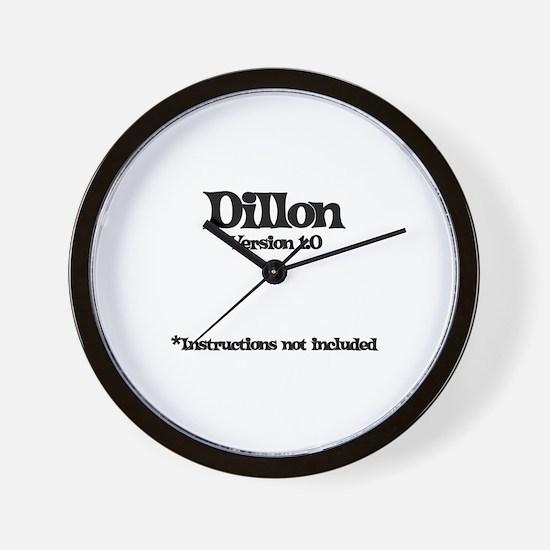 Dillon Version 1.0 Wall Clock