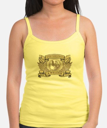 Never Underestimate a Welder Tank Top