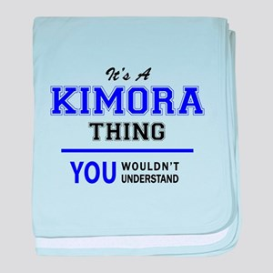 It's KIMORA thing, you wouldn't under baby blanket