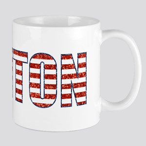sequin Clinton Mugs