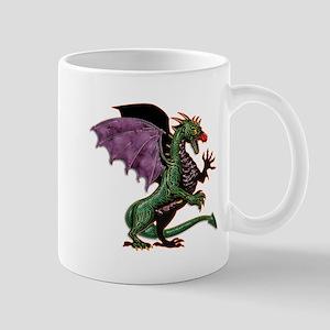 Purple & Green Dragon Mugs
